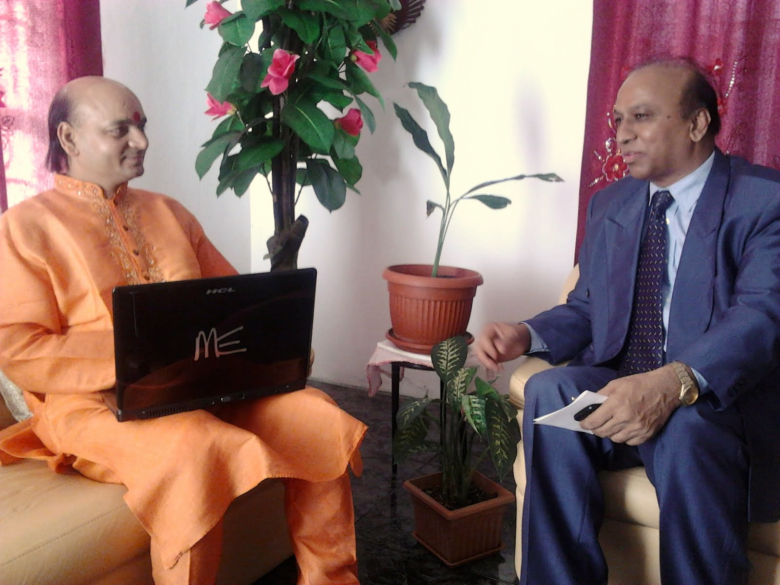 Meeting with The Hon Maneswar PEETUMBER, MP, Parliamentary Private Secretary in Mauritius