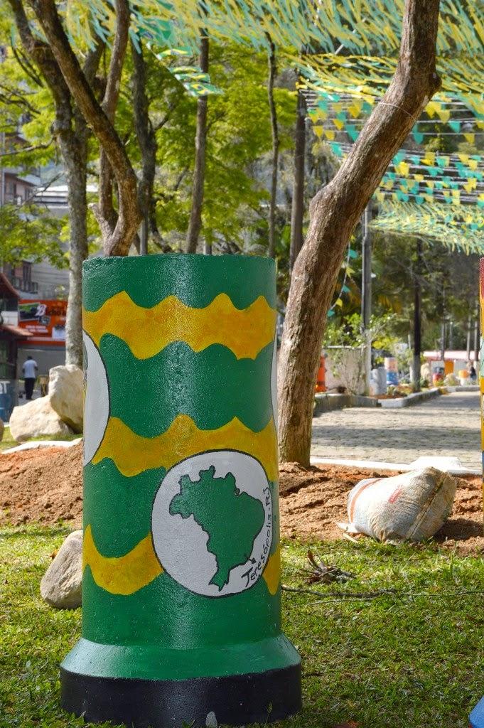 'Jardineiras do Mundo' são instaladas na Feirinha de Teresópolis