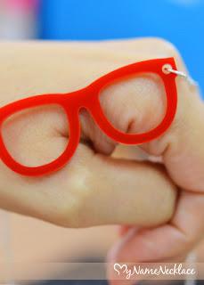Acrylic Glasses Necklace