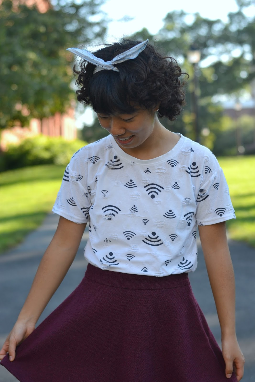 wifi shirt college style