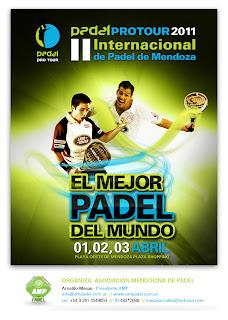 Torneo Padel Pro Tour 2011 en Argentina