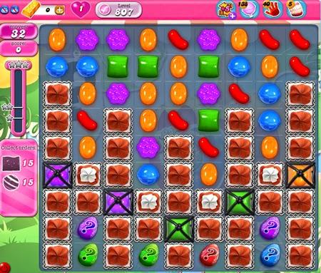 Candy Crush Saga 807