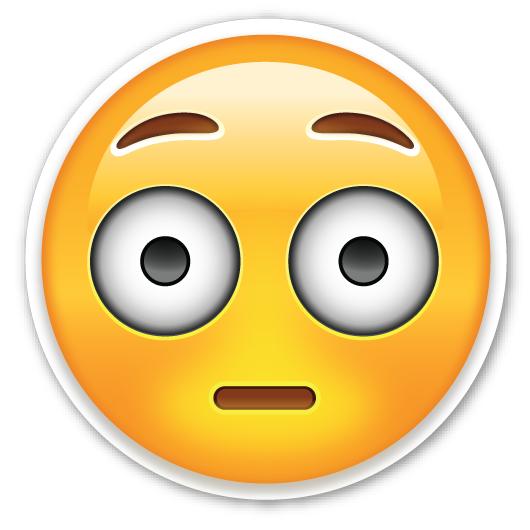 Holding breath emoji