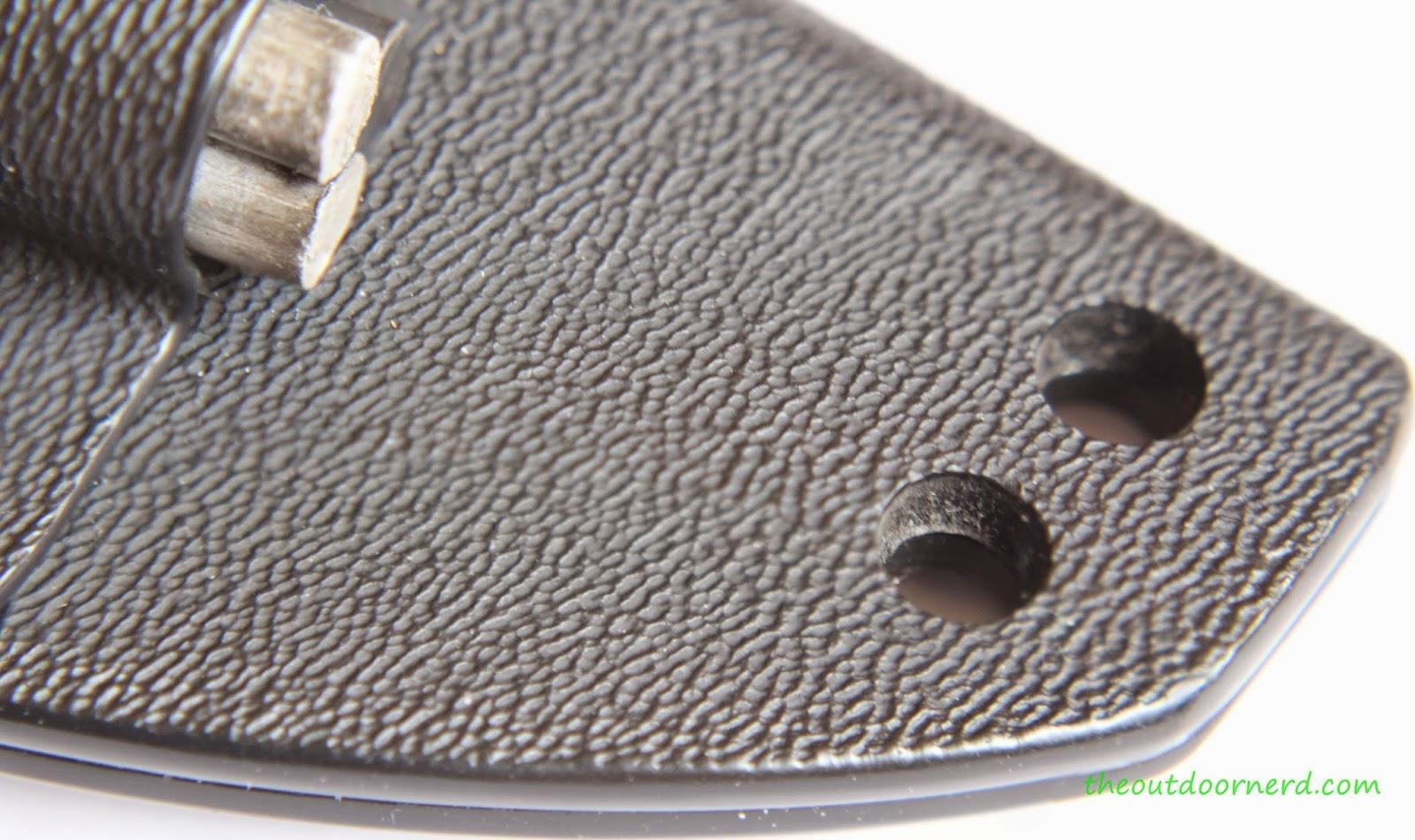Tops Fieldcraft Fixed Blade Knife: Sheath View 4