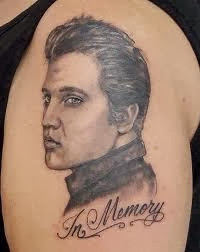 Tatuagem de Retrato - Rosto Elvis Presley