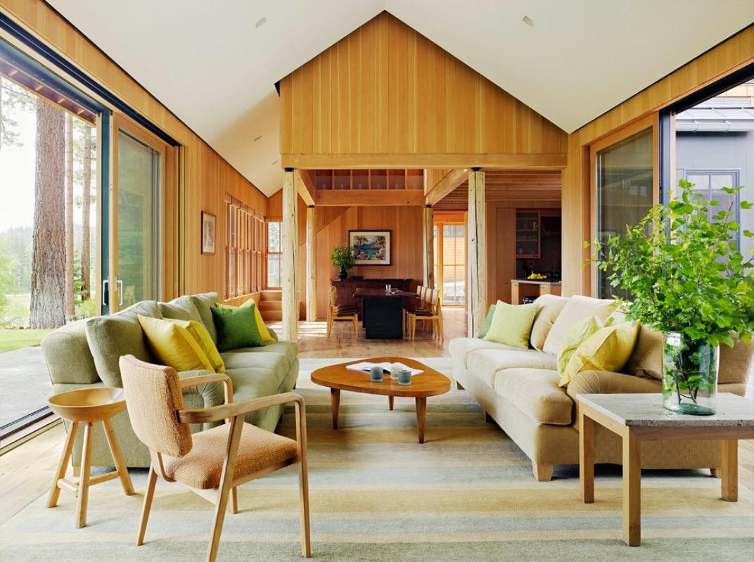 Desain Interior Gaya Rustic