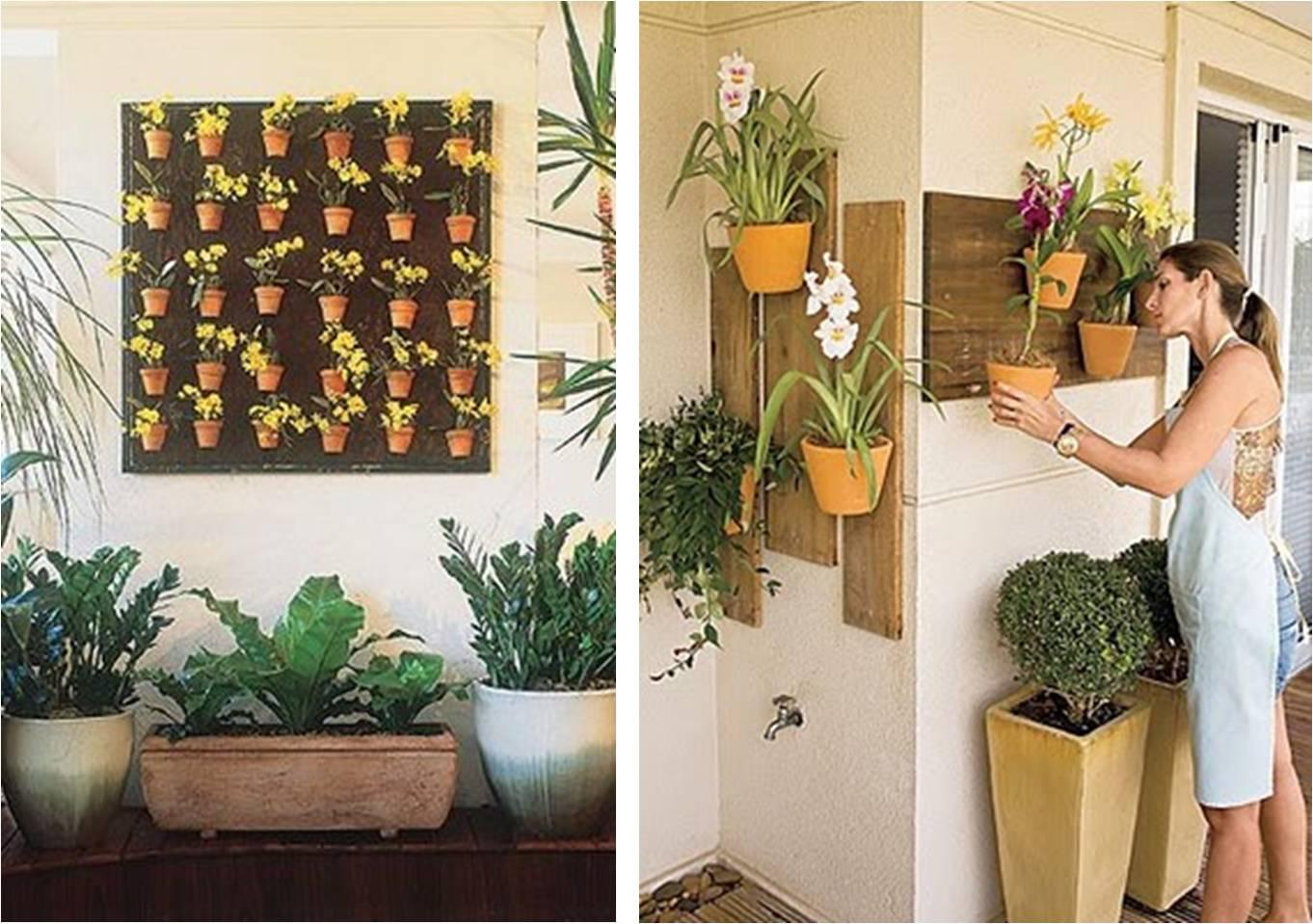 ? Adora Verde? O Jardim Vertical é A Solução Perfeita Para Você~ Jardim Vertical Metro Quadrado