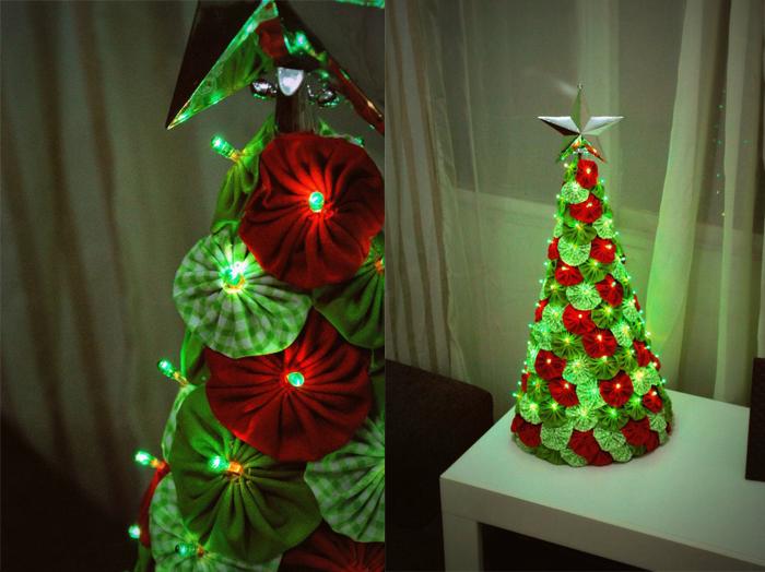 Artesanato Zilda Mateus ~ Blog de Lauandah Ideia criativa Enfeites de natal com fuxico