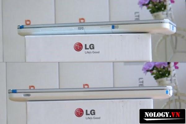 Thiết kế cạnh rìa của LG Optimus GK