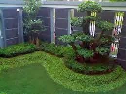 model taman kecil depan rumah | desain arsitektur rumah