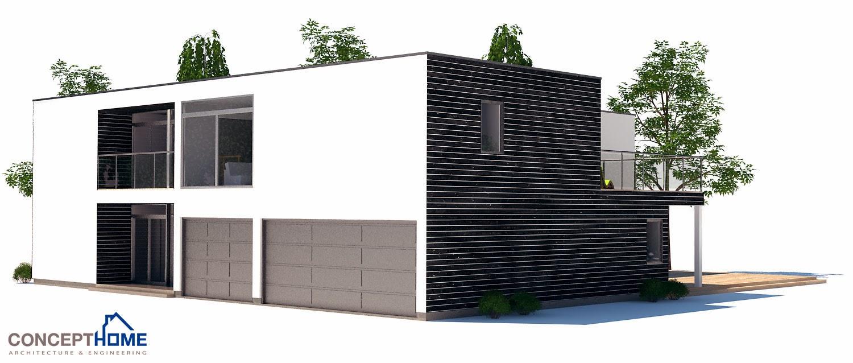 Plantas de casas modernas planta de casa moderna ch185 for Plantas de casas modernas