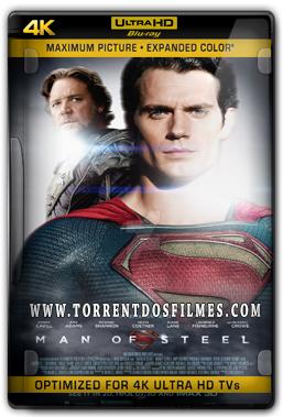 O Homem de Aço (2013) Torrent - BluRay 4K 1080p Dual Áudio