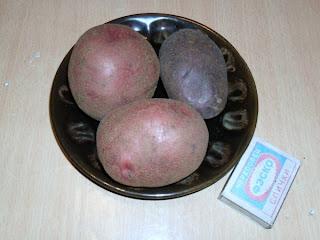 Клубни семенного картофеля