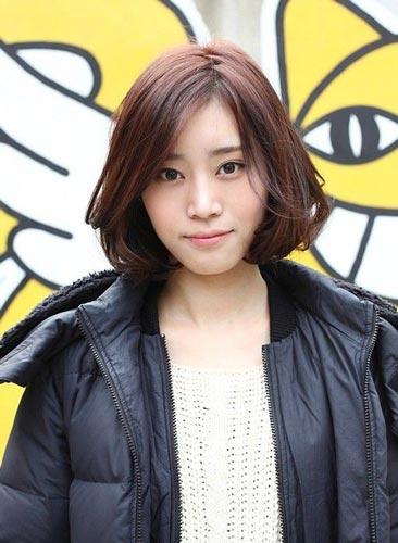 Cute Korean Short Hairstyles for Girls photo