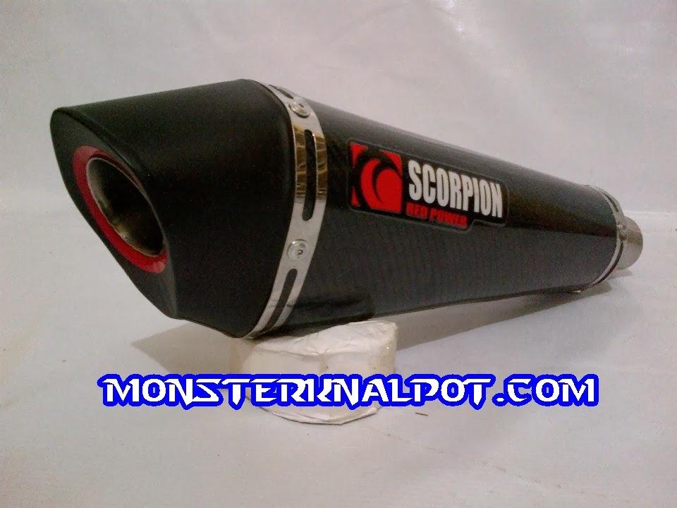 Knalpot Scorpion Carbon