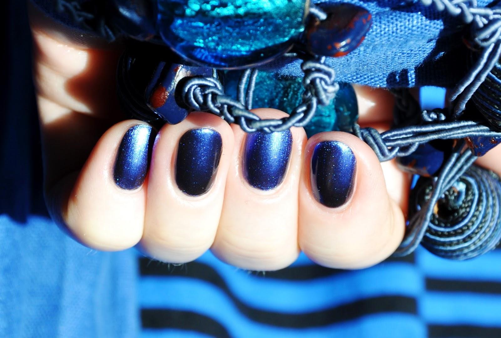 лак синий металлик хамелеон