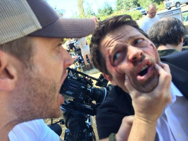 Supernatural - Episode 10.03 - Soul Survivor - BTS Production Photo