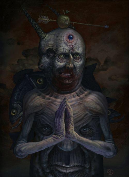 Jeff Christensen js4853 deviantart pinturas surreais sombrias Safira