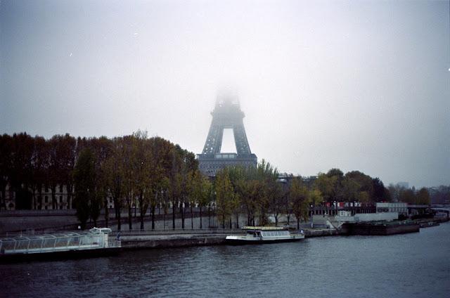 Photographie argentique couleur - Paris