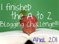 BLOGGING FROM A TO Z 2011 WINNER'S BADGE