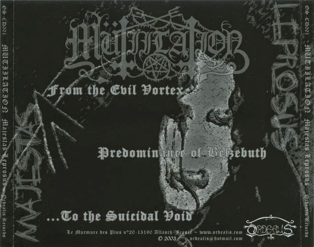 Mütiilation - Evil - The Gestalt Of Abomination