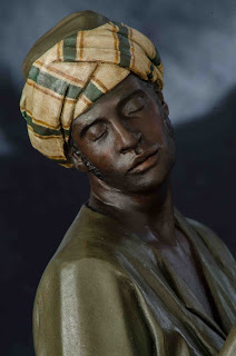 Belén presepe nativity krippe Arturo Serra escultura barro cocido 10