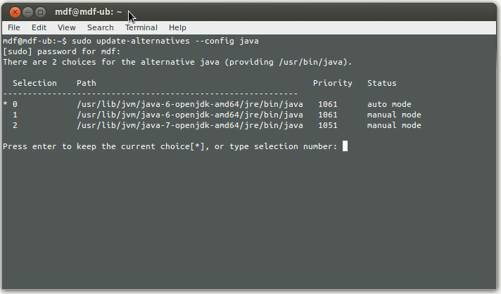 how to set path for java in ubuntu