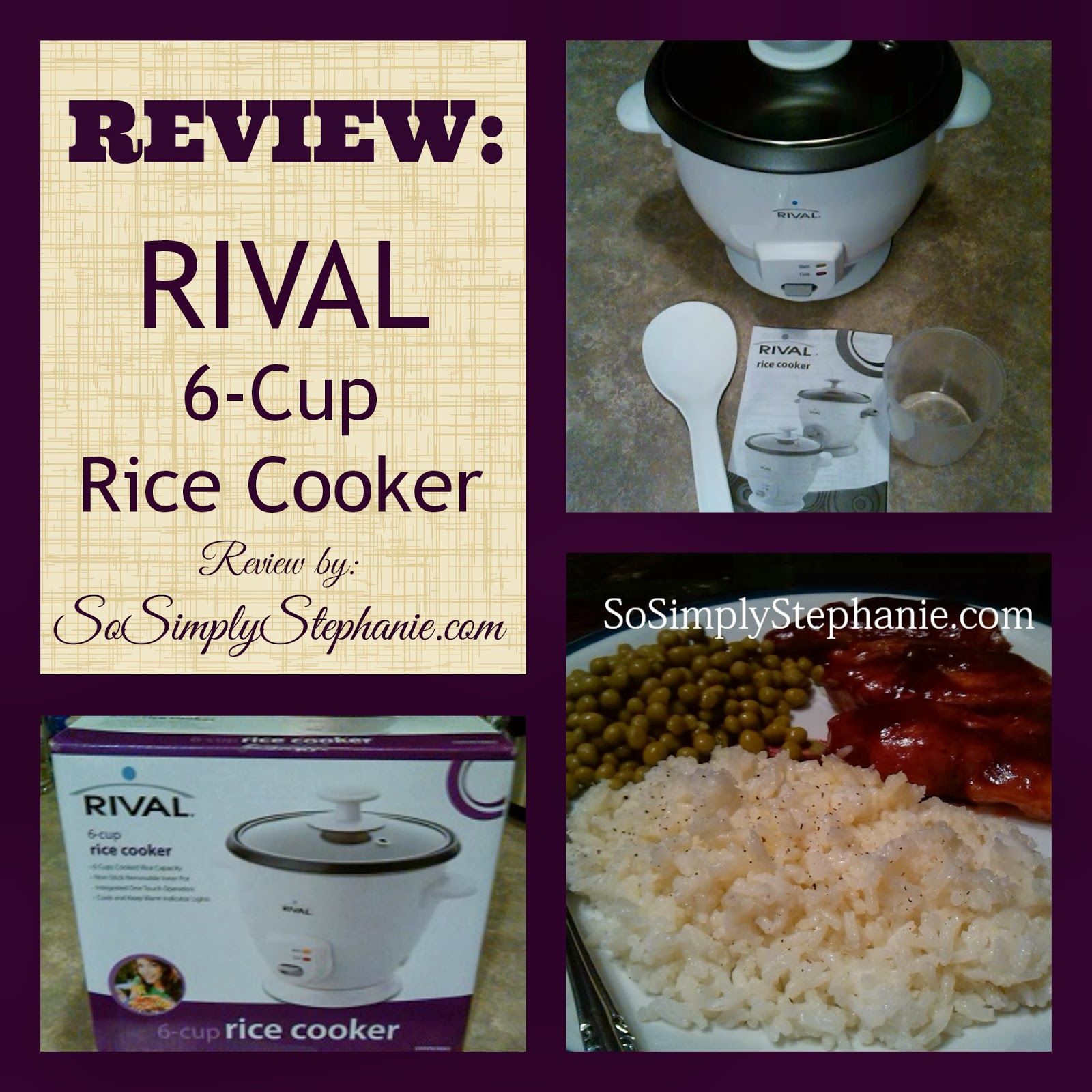 Rival 6-Cup Rice Cooker Review