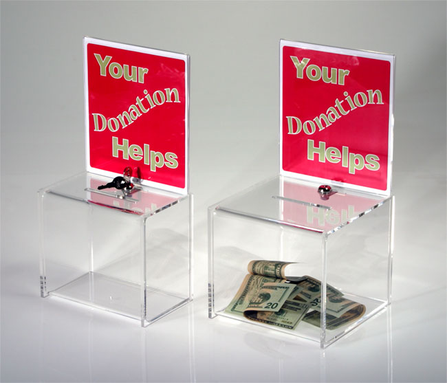 Persuasion and Influence: Donation Boxes