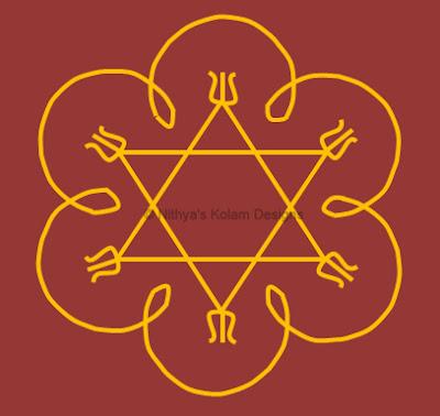 3 Navagraha Kolam | Guru Bhagavan | Thursday