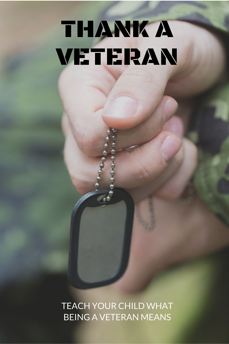 Ways to thank a veteran!