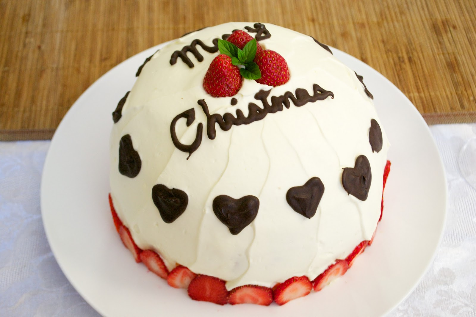How to make christmas cake - Japanese Christmas Cake