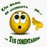 Para mejor funcionamiento del blog, deje un comentario, dicha información será de gran utilidad
