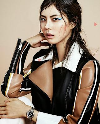 Park Ji Yoon - Harper's Bazaar Magazine December Issue 2013