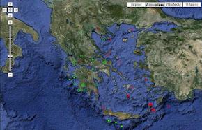 Παρακολουθείστε σε πραγματικό χρόνο όλους τους σεισμούς στην Ελλάδα