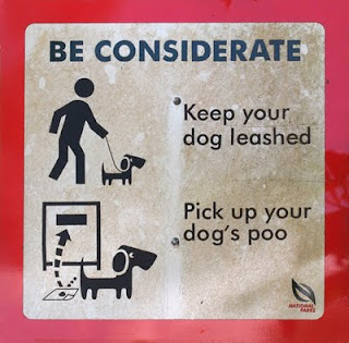 Pick up your dog's poo - Kent Ridge Park