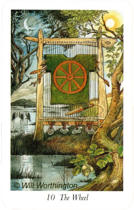 The Wildwood Tarot The wheel