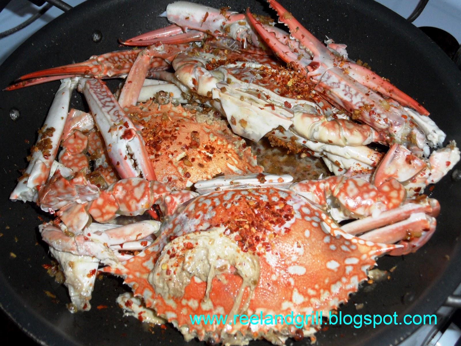 Chili Crab a la Regina - For February Kulinarya Challenge