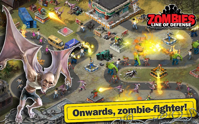 Zombie: Line of Defense versi terbaru