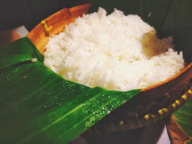 Ikan Bakar Jimbaran- organic rice