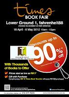 Timesbookstore Book Fair KL Fahrenheit88