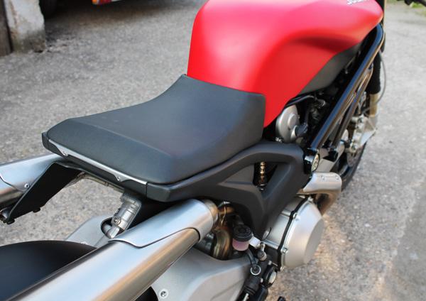 "Ducati ""Flat Red 2"" by JVB | Custom Ducati | Ducati Custom | Custom bikes | way2speed.com"