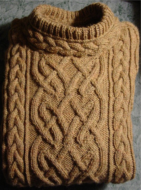 Free Cable Knit Afghan Pattern : Knitting Patterns Free: aran knitting