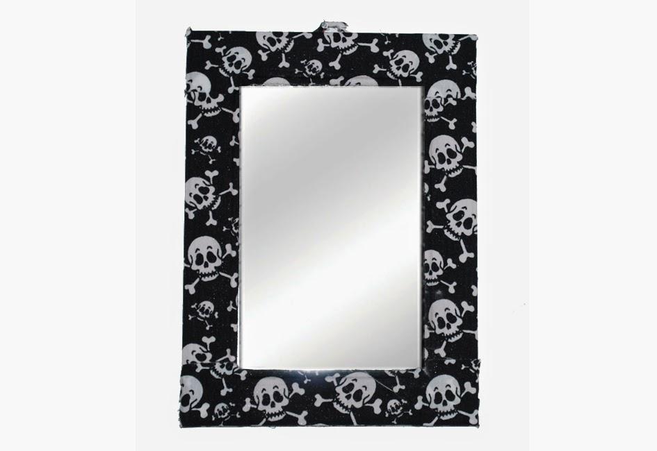 espelho colorido, tecido adesivo