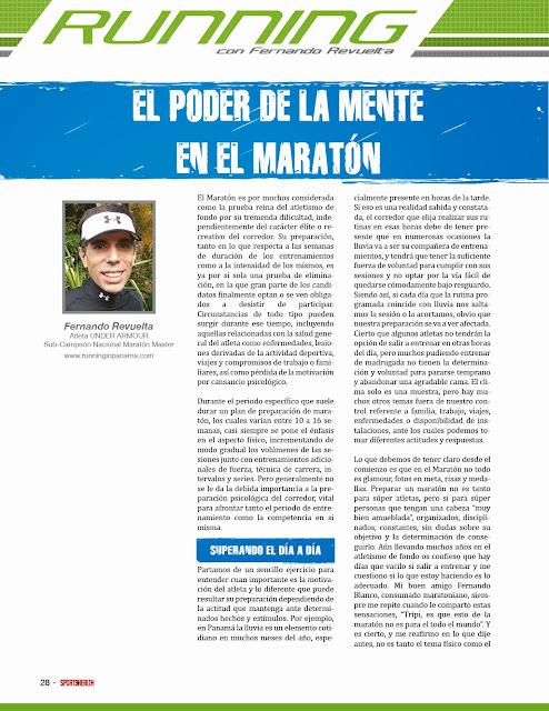 Psicologia en maraton