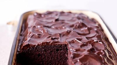 шоколадов кекс с глазура