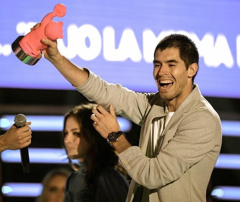 Germán Garmendia triunfa en los MTV Millennial Awards 2014