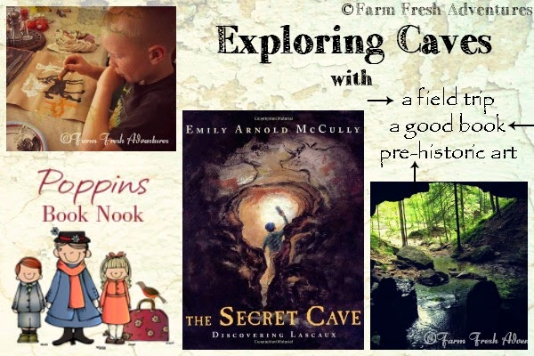 exploring caves and cave paintings poppins book nook