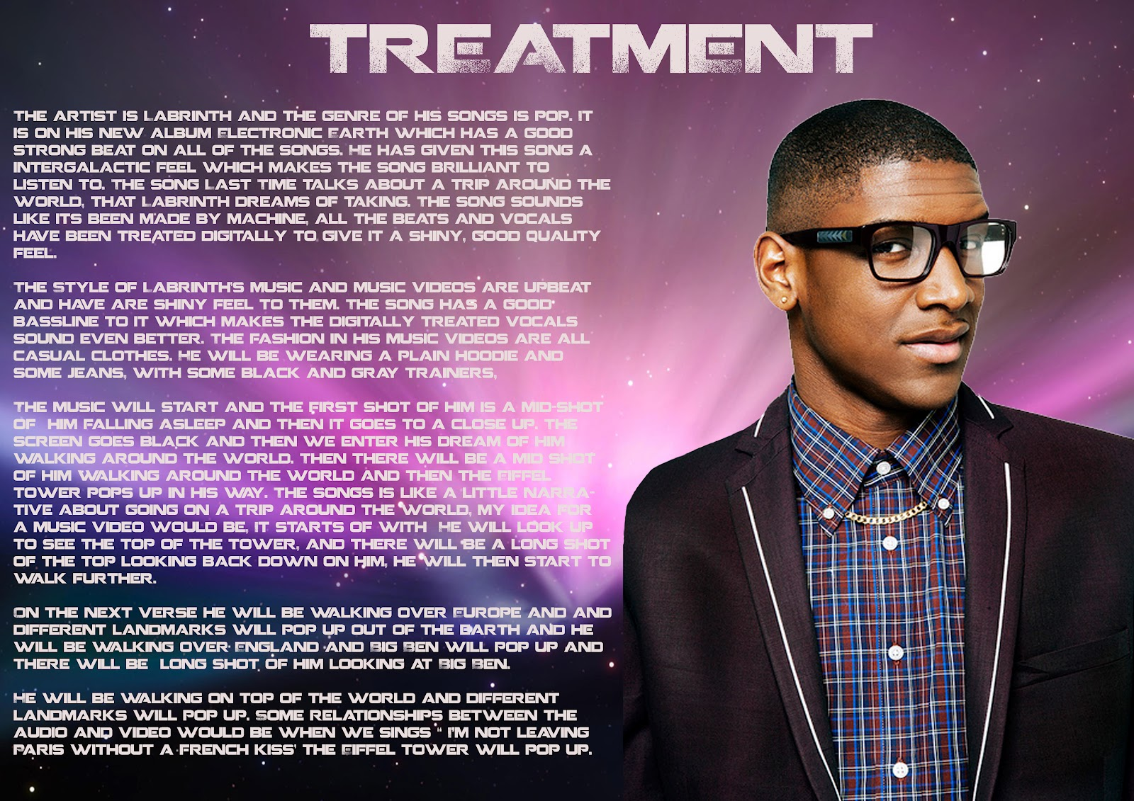 music video treatment Music video treatment template download posted on july 22, 2017 91 out of 100 based on 558 user ratings how to write music video treatments duration:.