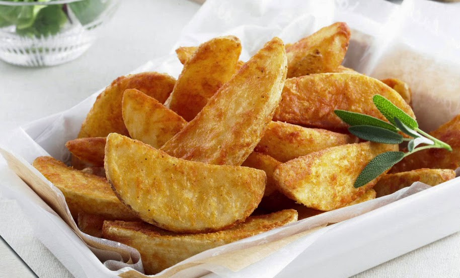 KyoChon wedge potato - Crispy and Delicious